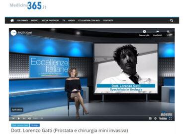 medicina 365 eccellenze italiane Odeon Dott. Gatti Lorenzo